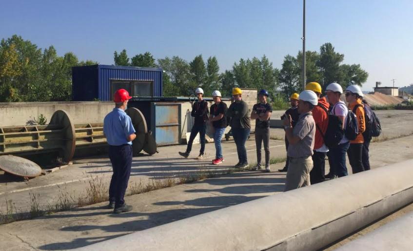 Az E.on gyakornokok látogattak a gyárunkba