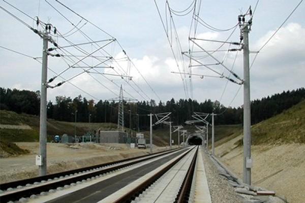 Felsővezetéki oszlop  Németország