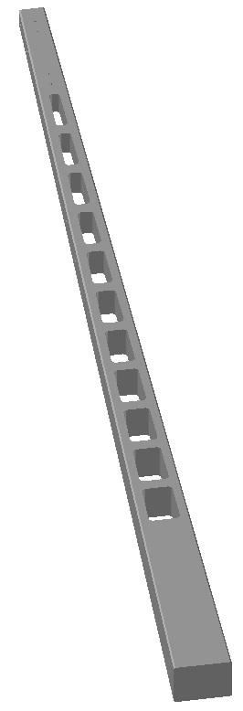 Áttörtgerincű oszlopok